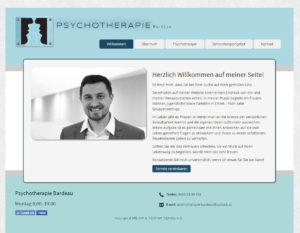 Website responsive - Ansicht am PC
